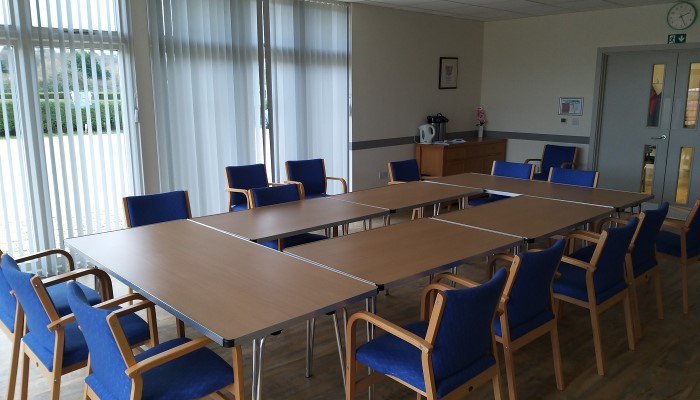 View of the ground floor meeting room